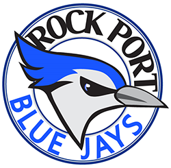 Photo of Rock Port School Logo, the Blue Jays
